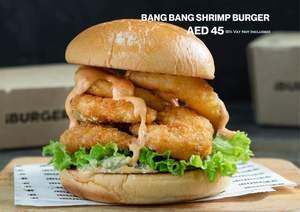 Drivu Bang Bang Shrimp Burger