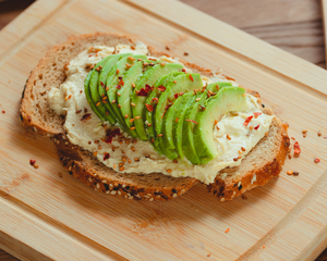 Drivu Avocado Hummus Toast