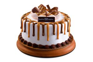 Drivu SNICKERS® incredible Ice Cream Cake