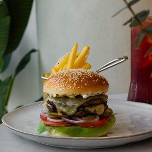Drivu Wagyu burger