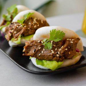 Drivu Pulled beef bao bun