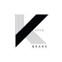 Logo kaffabeans logo white